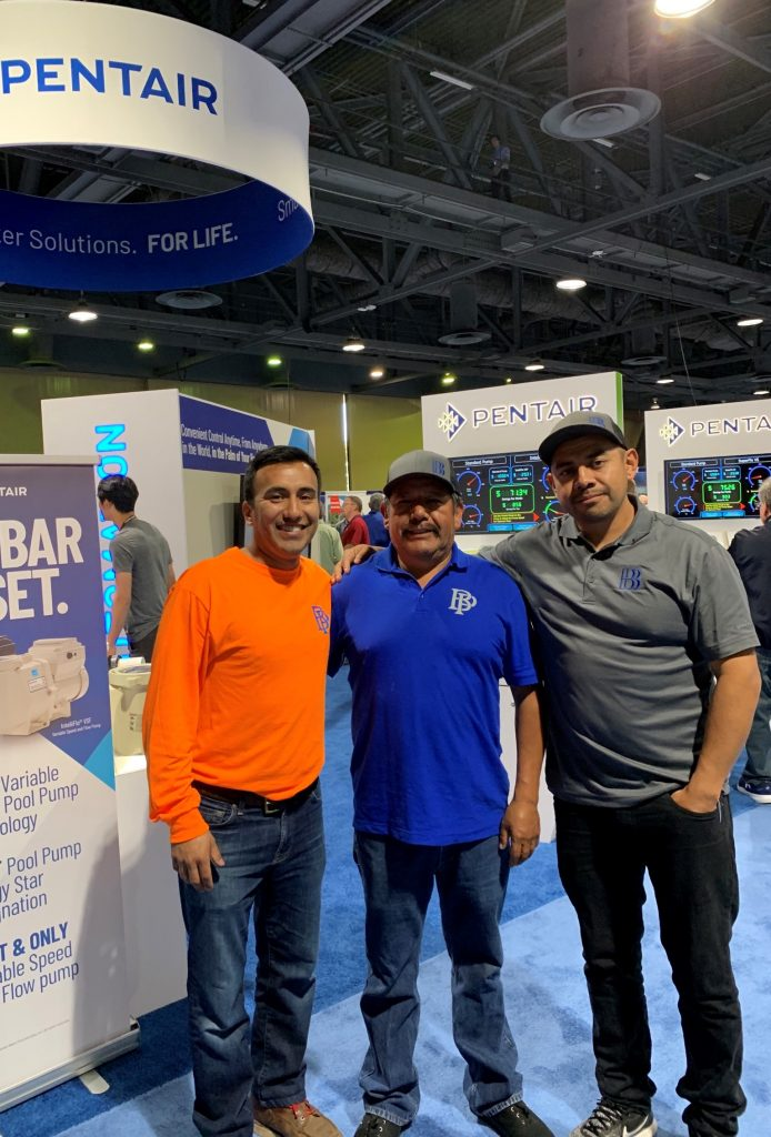 BP Water Concepts team at expo